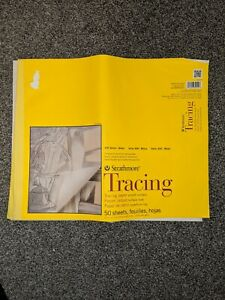 """Strathmore 300 Series Tracing Pad - Transparent parchment 14""""x17"""" 30+ Sheets"""