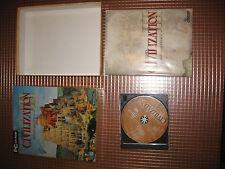 PC CIVILIZATION 3 III SID MEIER'S MAS 1ª Edición CAJA CARTON VERSION ESPAÑOLA