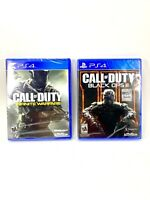 PS4 Call of Duty: Black Ops 3 & Infinite Warfare PlayStation4 NEW Factory SEALED