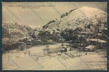 Como Lanzo d'Intelvi Nevicata cartolina LQ3103