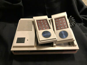Mattel Intellivision II Video Game Working Console w/AC Adapter, AV Cable JA21