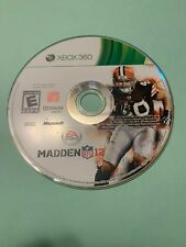 Madden 12 - Used - Xbox 360 - Game Only - FREE S/H-(B73A)