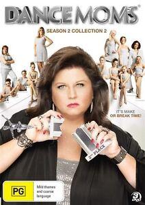 Dance Moms : Season 2 : Collection 2 DVD 3 Disc Set Region Region 4