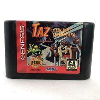Taz in Escape From Mars (Sega Genesis, 1994) Cartridge only - Tested!!