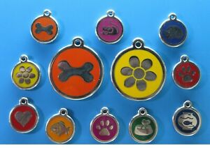Red Dingo stainless steel dog tags