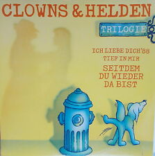 """12"""" - Maxi  Clowns & Helden – Trilogie ,VG++ ,gewaschen,TELDEC – 6.20889"""