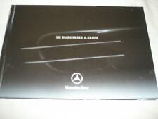 Mercedes SL Class Roadster brochure Dec 2004 hardbacked German text