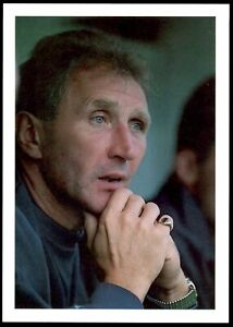 Bassett & Co Great Managers 2 (1992-93) Postcard Howard Wilkinson (Leeds United)