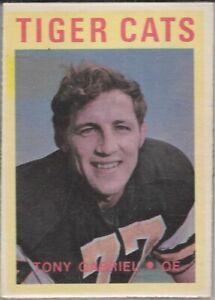 Tony Gabriel 1972 O-Pee-Chee Hamilton Tiger Cats Football Card