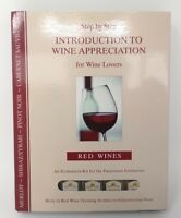 Step by Step Introduction to Wine Appreciation Evaluation Kit Red Wines NEW (e1)