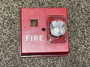 Faraday Siemens 2834 Fire Alarm Horn/Strobe