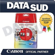 CANON PHOTO VALUE PACK PG-540XL+CL-541XL NERO+TRI-COLORE PER PIXMA MX455, MX475