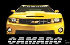 """CAMARO 36"""" Windshield Banner Decal Vinyl Sticker Chevy Chevrolet SS Z28 Sport"""
