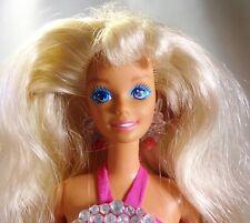 SUN JEWEL BARBIE 1993 poupée original bijoux rose maillot de bain