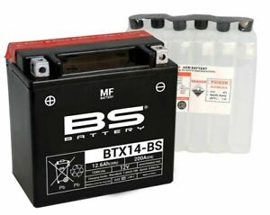 bs battery btx14-bs ytx14-bs honda xl 1000 v varadeo (SD01) 1999 2000