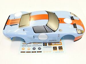 NEW HPI RS4 SPORT 3 Body Factory Painted Ford GT Heritage Edition Retro HH3G