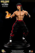 POP CULTURE SHOCK MORTAL KOMBAT KLASSIK LIU KANG EXCLUSIVE VERSION 1:4 STATUE.