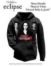 TWILIGHT - Eclipse Edward, Bella & Jacob Hoodie (XS/M/L/XL) #NEW