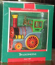 """1989 Hallmark Keepsake """"Tin Locomotive Series #8"""" Collector's Series"""
