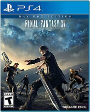 Final Fantasy Xv Day One Edition - PlayStation 4 Ps4 Brand New