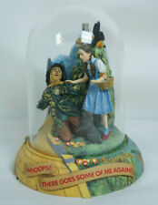 Wizard of Oz Music Box Dome Whoops There Goes Some Of Me Franklin Mint