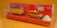 Busch 89007 Baufahrzeuge-Set: MB Citan &  Bauanhänger  (Scale 1:87)