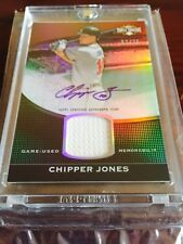 2011 Topps Triple Threads Chipper Jones AUTO 57/75