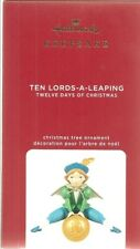 Hallmark 2020 Ten Lords a Leaping Twelve Days of Christmas series Ornament