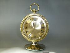 "Vintage Mechnical Alarm Clock Key Wind ""BULOVA"" Made In JAPAN (Watch The Video)"