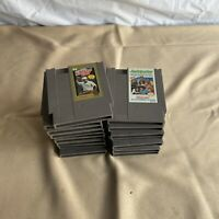 Nintendo (NES) lot of 17 Games Metroid, TMNT, Tecmo Super Bowl, Etc