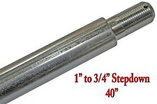 """40"""" Step-Down Axle 1"""" to 3/4"""" Deluxe Flexpruf Flex Proof Go Kart Off Road Cart"""