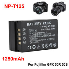 NP-T125 1250mAh Digital Camera Li-ion Battery for Fuji Fujifilm Finepix GFS 50R