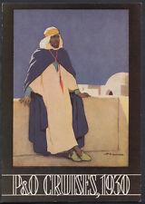 Shipping Postcard - P & O Cruises, 'The Blue Peter' Advertisement, 1930 -  B2538