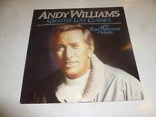 ANDY WILLIAMS - Greatest Love Classics - 1984 UK 13-track vinyl LP
