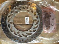 Honda CBF125 front brake disc & pads 2009 To 2015 high grade steel Uk Stock