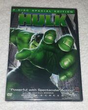 Hulk (2003) DVD - 2 Disc DVD Set - PG13 - New, Sealed - Bana, Connelly