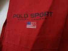 **AWESOME** POLO SPORT RALPH LAUREN LAKE MEN SHIRT SIZE MEDIUM RED RARE STYLE