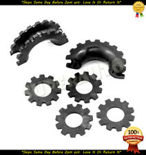 """3/4"""" 4.75 Ton Shackles D-Ring Bow 6pcs Black Isolator Washers Silencer only"""