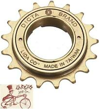 "DICTA 17T----3/32"" TEETH BROWN BMX BICYCLE FREEWHEEL"