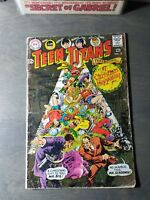 """DC TEEN TITANS 13 (1968) -"""" A Christmas Happening   VG"""