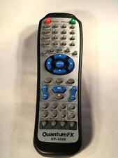 Quantum FX DVD Player VP-1008 Remote Control - FREE SHIPPING