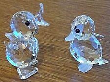 Swarovski Crystal Duck Canard Set Job Lot Collection objets 010007 0127 28
