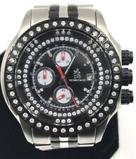 Men's Richard & co 1.00CT Diamond Watch RC-3016 Black face