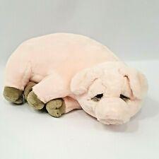 "Dakin Lou Rankin Friends Pig Wilfred Plush Stuffed Animal Toy 16"" Pink Sleepy"