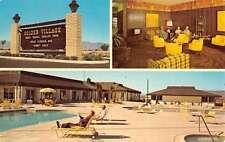 Hemet California Golden Village Multiview Vintage Postcard K47182