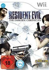 Nintendo Wii Resident Evil The Darkside Chronicles tedesco usati/molto buona