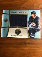 2015-16 Upper Deck Ultimate Collection Nicolas Petan Debut Threads /149