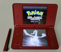 Nintendo DSi XL 25th Anniversary Edition Mario Bros Red w/ charger (No games)