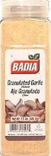 Granulated
