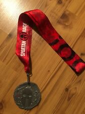 2017 spartan race sprint finisher medal